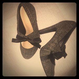 """Adorable! tweed """"Kelly & Katie"""" heels"""